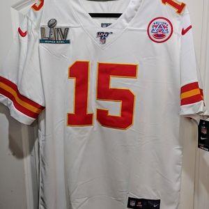 Chiefs Patrick Mahomes Super Bowl LIV Jersey